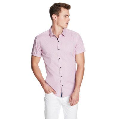 Fashion 4 Men - yd. Smart Micro Ss Shirt Red Xxxl