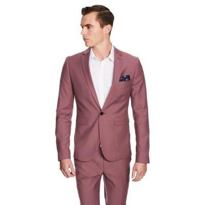 Fashion 4 Men - yd. Thunder Skinny Fit Suit Musk 34