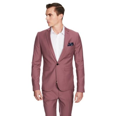 Fashion 4 Men - yd. Thunder Skinny Fit Suit Musk 46