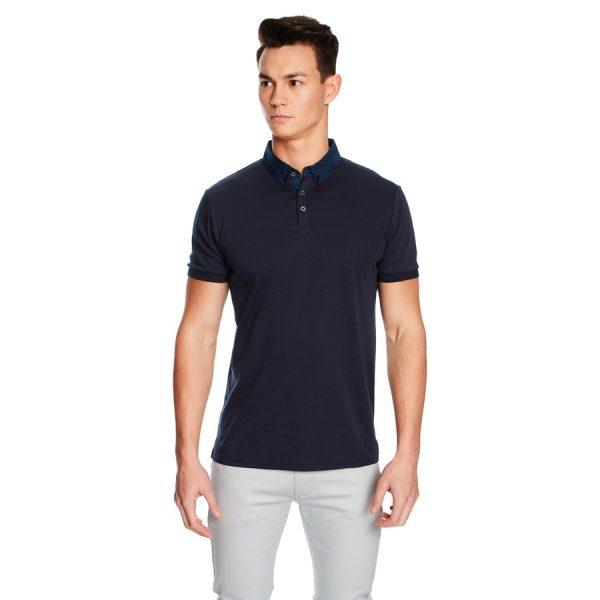 Fashion 4 Men - yd. Trinidad Ss Polo Dark Blue S