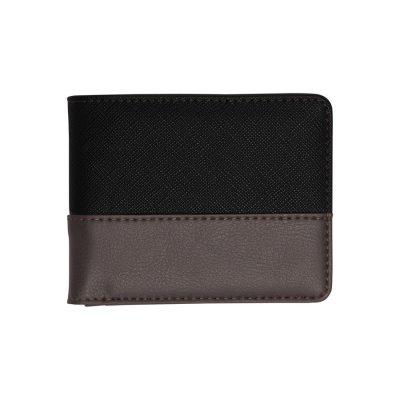 Fashion 4 Men - Tarocash 2 Tone Wallet Black 1