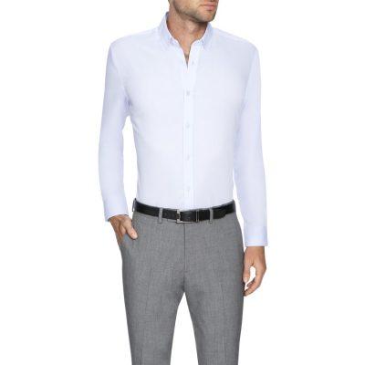 Fashion 4 Men - Tarocash Bermuda Slim Dress Shirt Lilac Xs