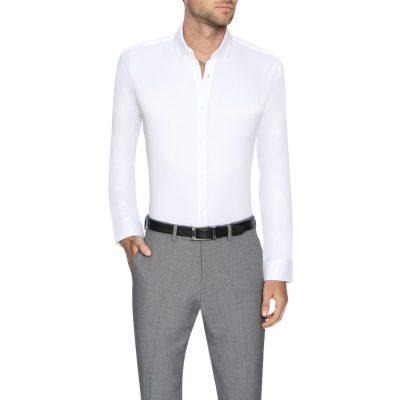 Fashion 4 Men - Tarocash Bermuda Slim Dress Shirt White Xxxl