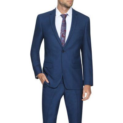 Fashion 4 Men - Tarocash Harry Slim 1 Button Suit Blue 36