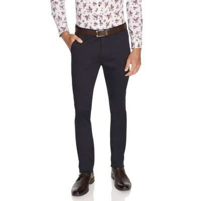 Fashion 4 Men - Tarocash Joel Skinny Pant Navy 34
