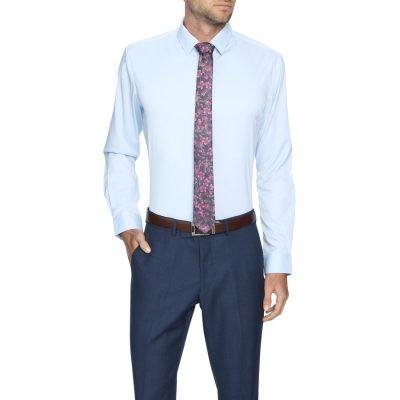 Fashion 4 Men - Tarocash Linton Stretch Dress Shirt Sky Xs