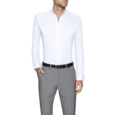 Fashion 4 Men - Tarocash Murphy Stretch Dress Shirt White L