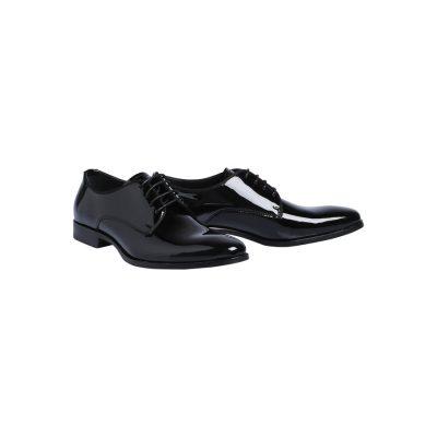Fashion 4 Men - Tarocash Patent Dress Shoe Black 10