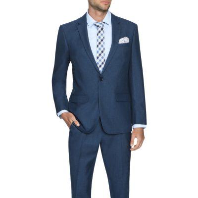 Fashion 4 Men - Tarocash Prince 1 Button Suit Midnight 44