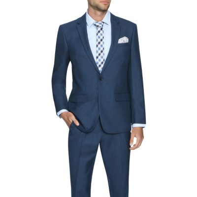 Fashion 4 Men - Tarocash Prince 1 Button Suit Midnight 46