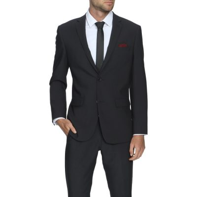 Fashion 4 Men - Tarocash Reed Stretch 2 Button Suit Charcoal 32