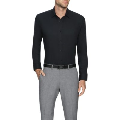Fashion 4 Men - Tarocash Ritchie Dress Shirt Black S