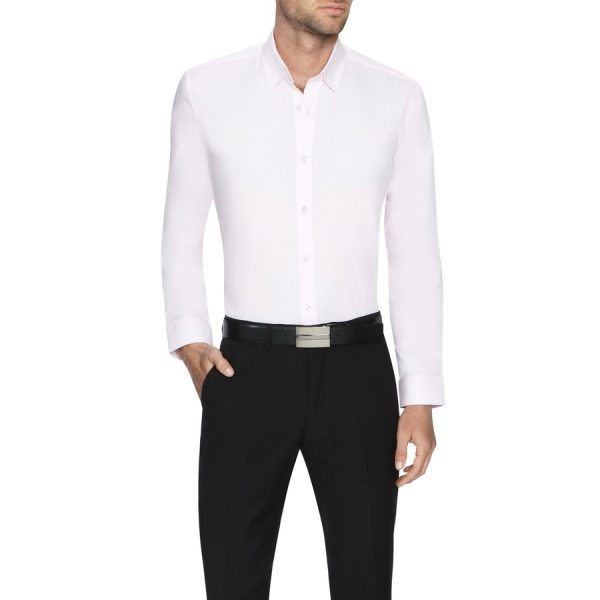 Fashion 4 Men - Tarocash Ritchie Dress Shirt Pink Xl