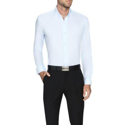 Fashion 4 Men - Tarocash Ritchie Dress Shirt Sky S