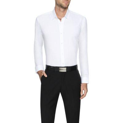Fashion 4 Men - Tarocash Ritchie Dress Shirt White S
