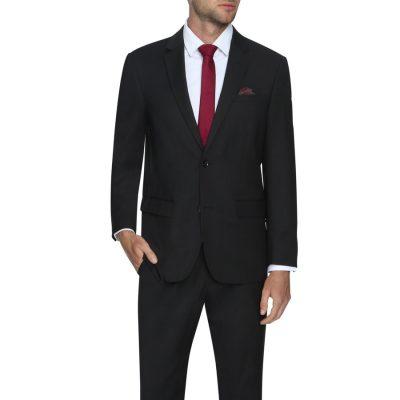 Fashion 4 Men - Tarocash Waterford Stretch 2 Button Suit Black 38