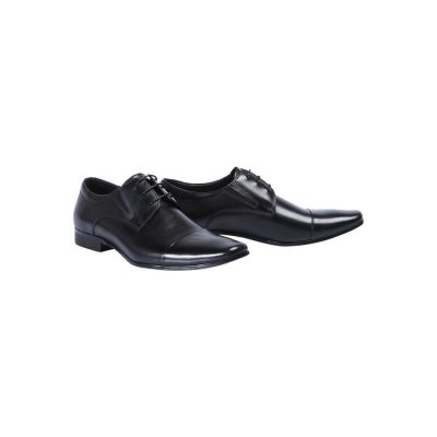 Fashion 4 Men - Tarocash Whiskey Lace Up Shoe Black 12