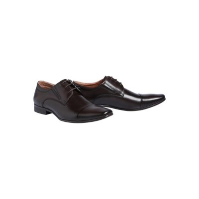 Fashion 4 Men - Tarocash Whiskey Lace Up Shoe Chocolate 8