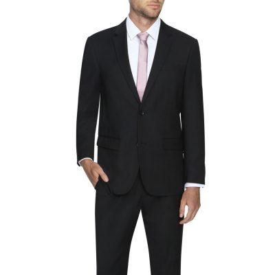 Fashion 4 Men - Tarocash Will Slim 1 Button Suit Black 42