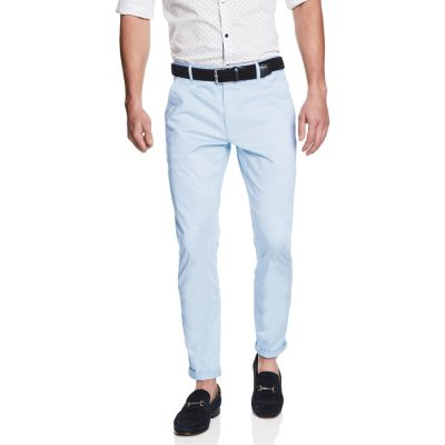 Fashion 4 Men - yd. Austin Chino Ice Blue 34