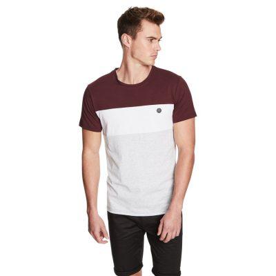 Fashion 4 Men - yd. Barren Ss Tee Burgundy L
