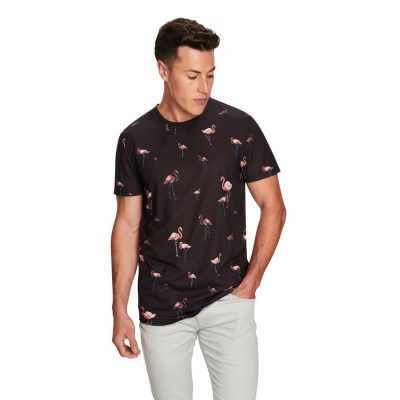 Fashion 4 Men - yd. Everglade Ss Tee Black S