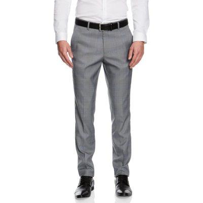 Fashion 4 Men - yd. Flynn Skinny Dress Pant Grey Check 28