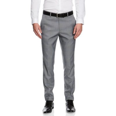 Fashion 4 Men - yd. Flynn Skinny Dress Pant Grey Check 33