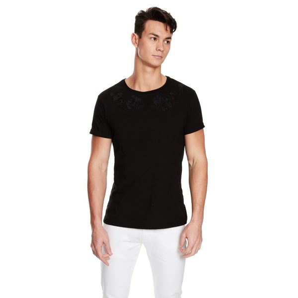 Fashion 4 Men - yd. Galion Ss Tee Black L