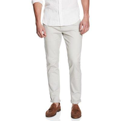 Fashion 4 Men - yd. Hendrix Skinny Chino Light Grey 38