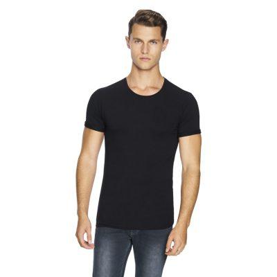 Fashion 4 Men - yd. Muscle Basic Tee Black L