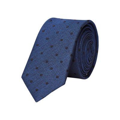 Fashion 4 Men - yd. Rum 5 Cm Tie Dark Blue One