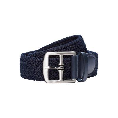 Fashion 4 Men - yd. Tommy Casual Belt Dark Blue 40