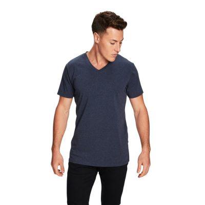 Fashion 4 Men - yd. Vinton Tee Denim Marle Xs
