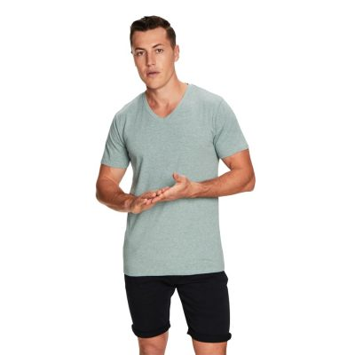 Fashion 4 Men - yd. Vinton Tee Seafoam M