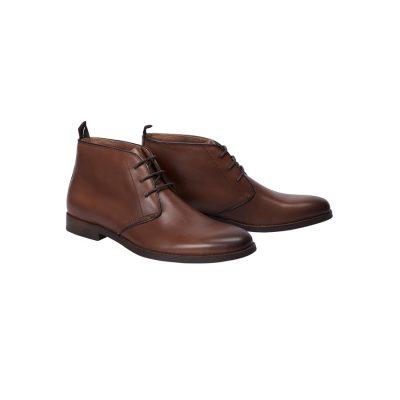 Fashion 4 Men - Tarocash Freeman Lace Up Boot Tan 9