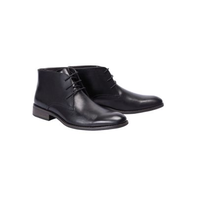 Fashion 4 Men - Tarocash Morgan Lace Up Boot Black 10