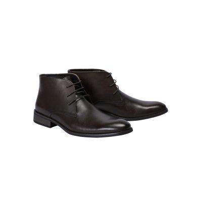 Fashion 4 Men - Tarocash Morgan Lace Up Boot Chocolate 11