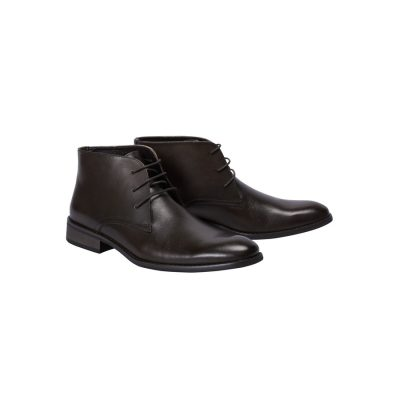 Fashion 4 Men - Tarocash Morgan Lace Up Boot Chocolate 8