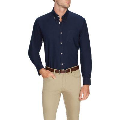 Fashion 4 Men - Tarocash Oxford Shirt Navy L