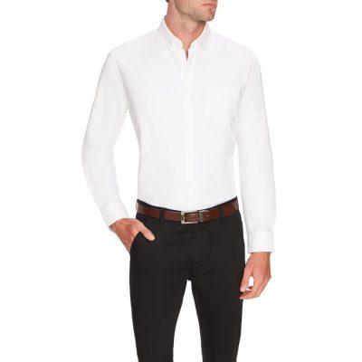 Fashion 4 Men - Tarocash Oxford Shirt White Xl