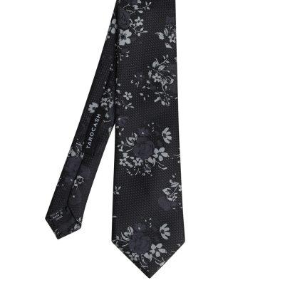 Fashion 4 Men - Tarocash Pearson Floral Tie Black 1