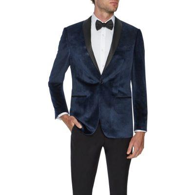 Fashion 4 Men - Tarocash Presley Tuxedo Jacket Navy Xxl