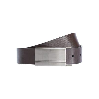 Fashion 4 Men - Tarocash Ricky Reversible Belt Choc/Black 36
