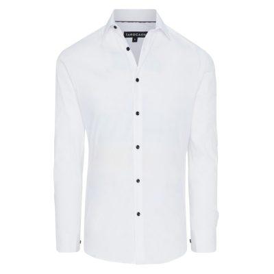 Fashion 4 Men - Tarocash Tahiti Slim Stretch Dress Shirt White Xxxl