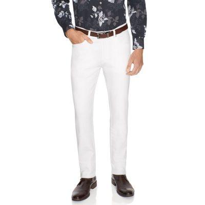 Fashion 4 Men - Tarocash Ultimate Slim Chino White 36