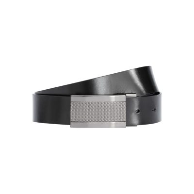 Fashion 4 Men - Tarocash Viktor Reversible Belt Black/Choc 36