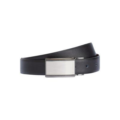 Fashion 4 Men - Tarocash Warhol Reversible Belt Black/Choc 40