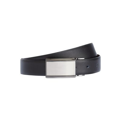 Fashion 4 Men - Tarocash Warhol Reversible Belt Black/Choc 46