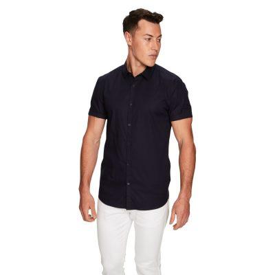 Fashion 4 Men - yd. Arnie Muscle Ss Shirt Navy L